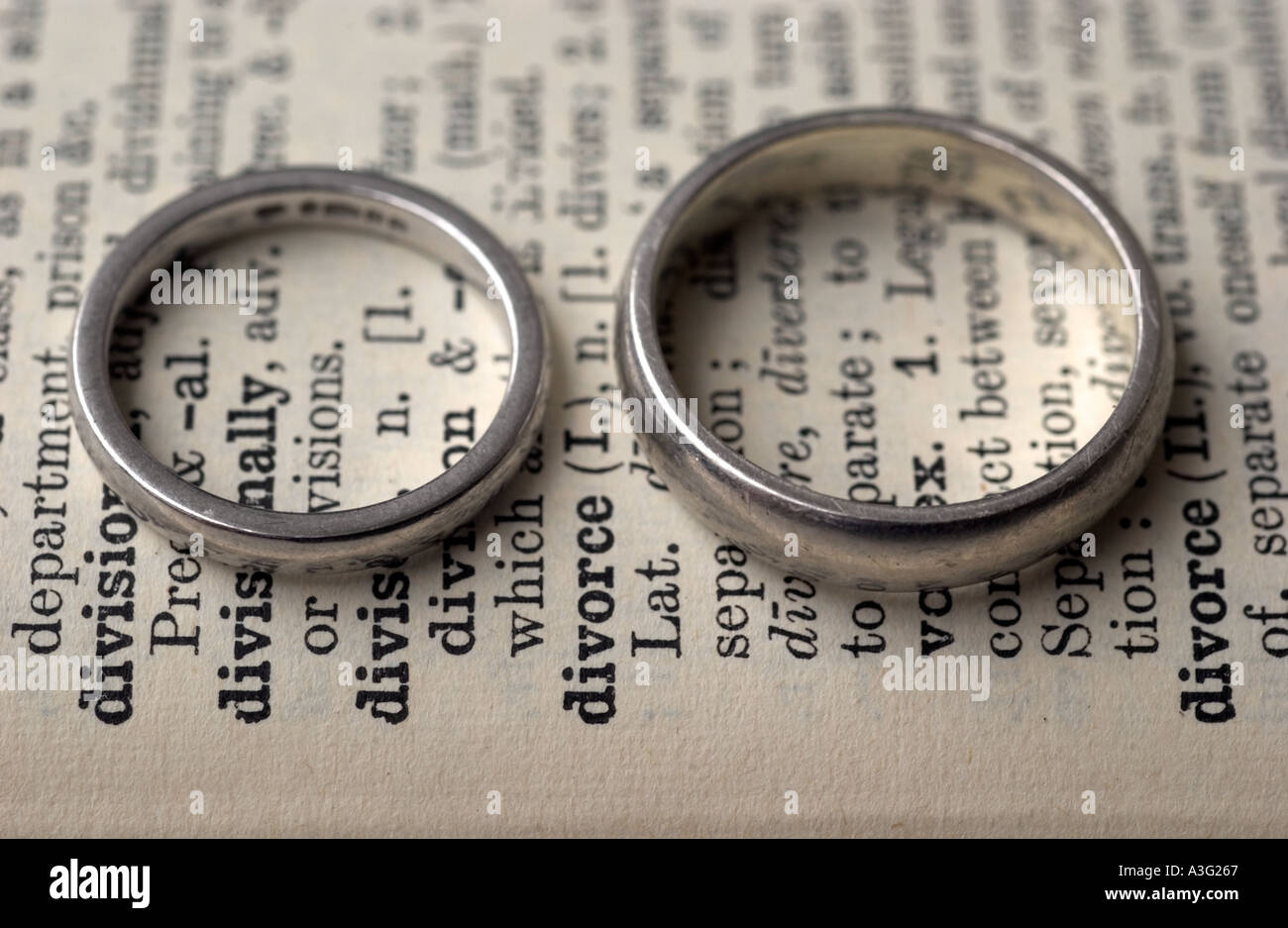 wedding-rings-on-a-dictionary-showing-th