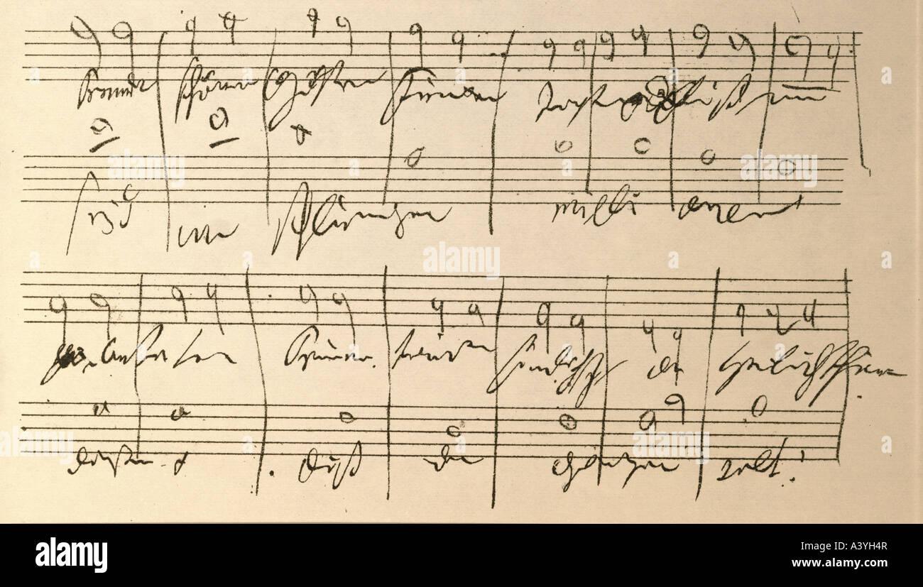 Ludwig van beethoven 9th symphony essay