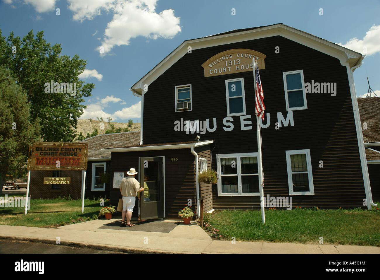 Ajd57306 Medora Nd North Dakota Historic Medora Downtown Stock Photo Royalty Free Image
