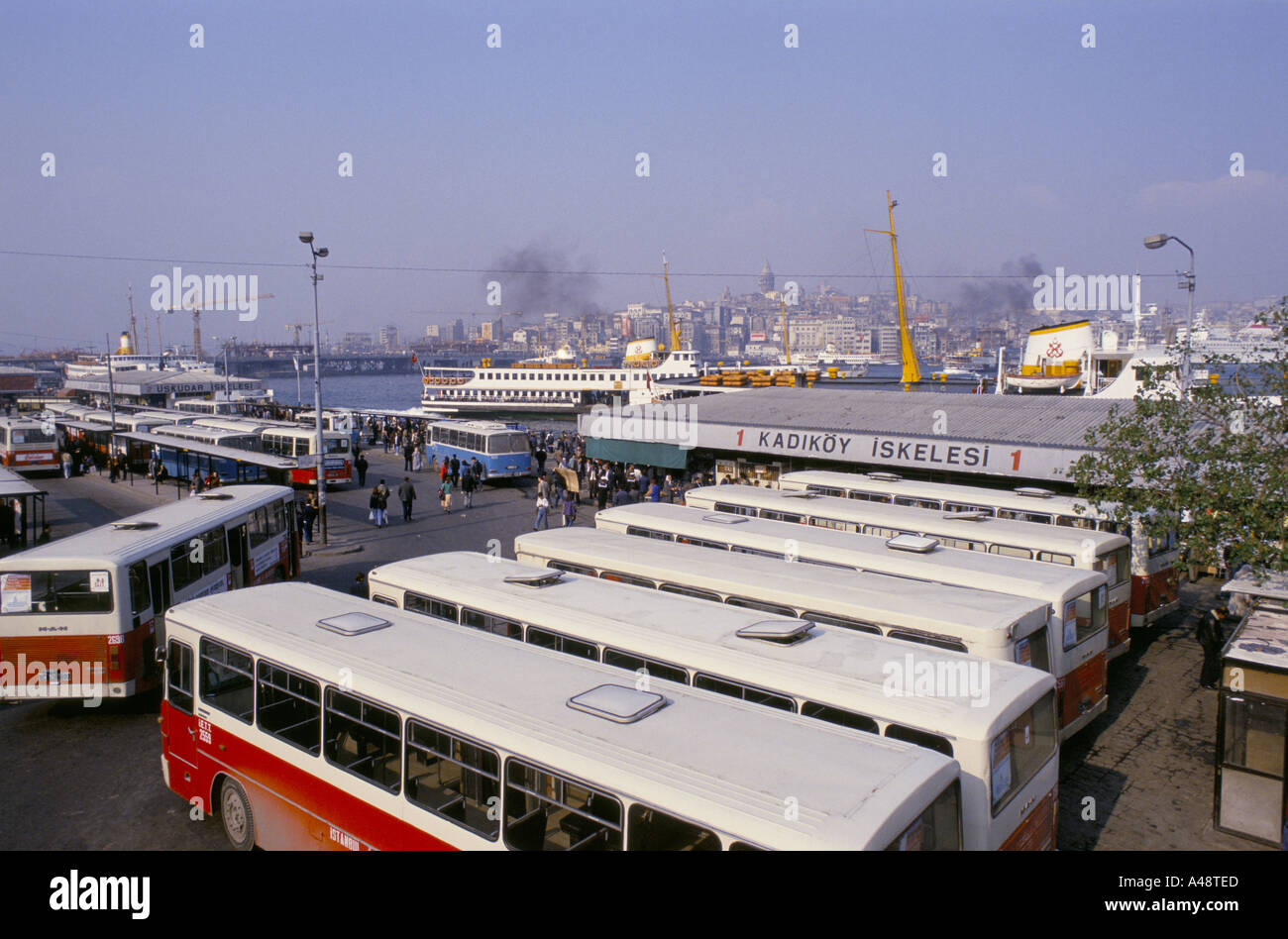 Bus station in istanbul stock photo royalty free image for Ted s fishing station
