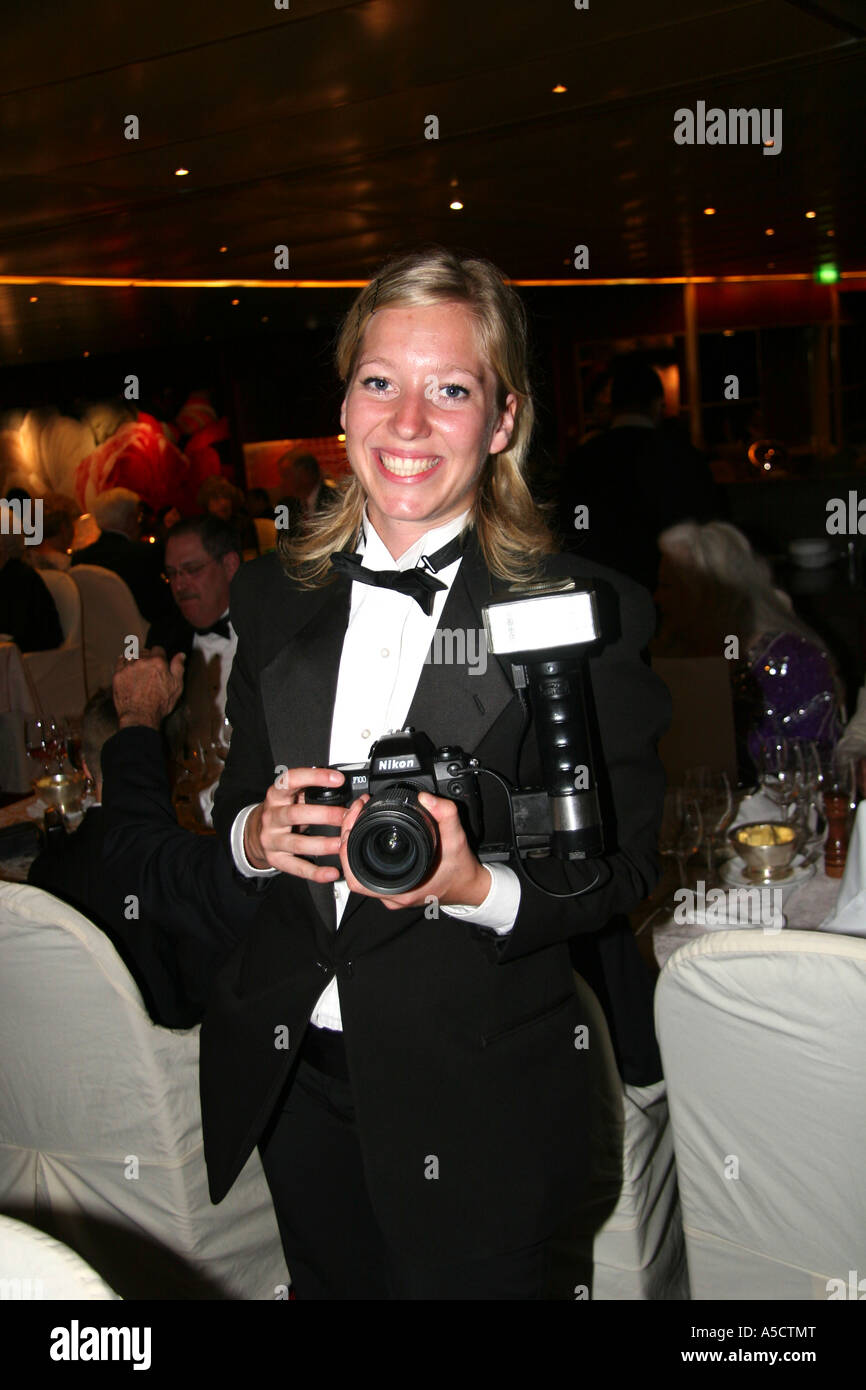 Ship Photographer On Board The Holland America Cruise Ship