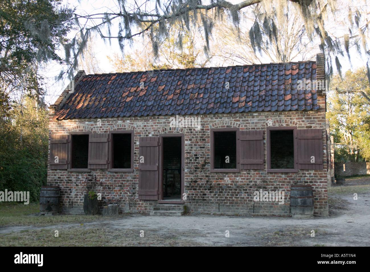 Slave Quarters Boone Hall Plantation Charleston South
