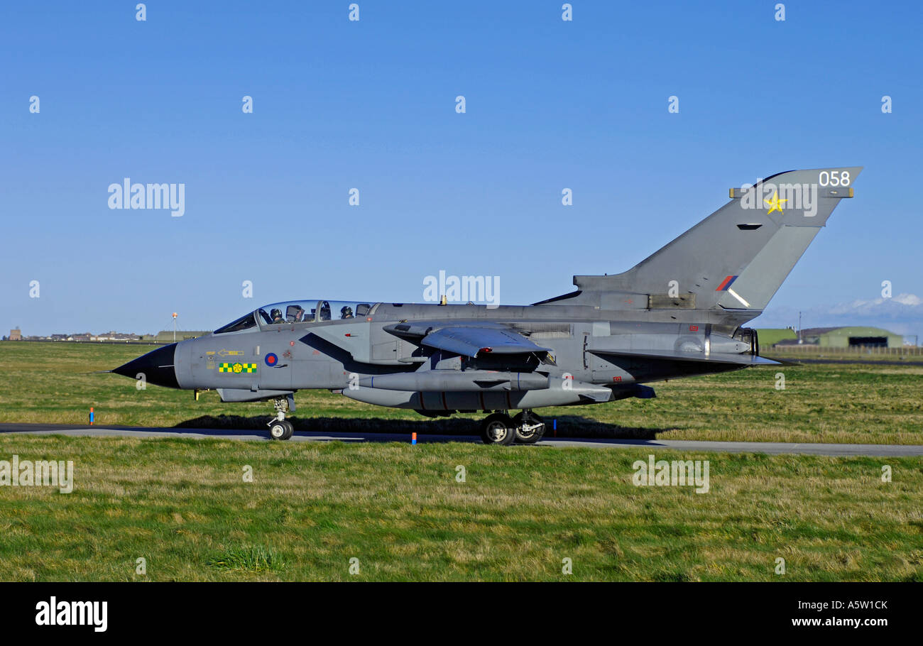 Stock Photo Panavia Tornado F4 Fighter On Reheat At Raf Air Base At Lossiemouth 11387298 on low level tornado ecr