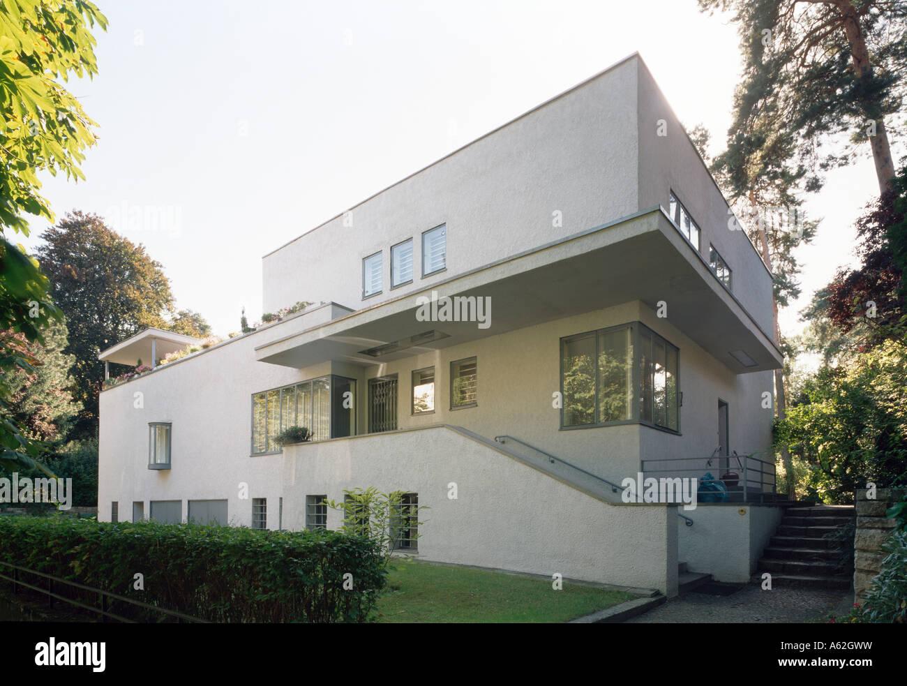Berlin haus lewin peter behrens 1929 stock photo for Architektur 1929