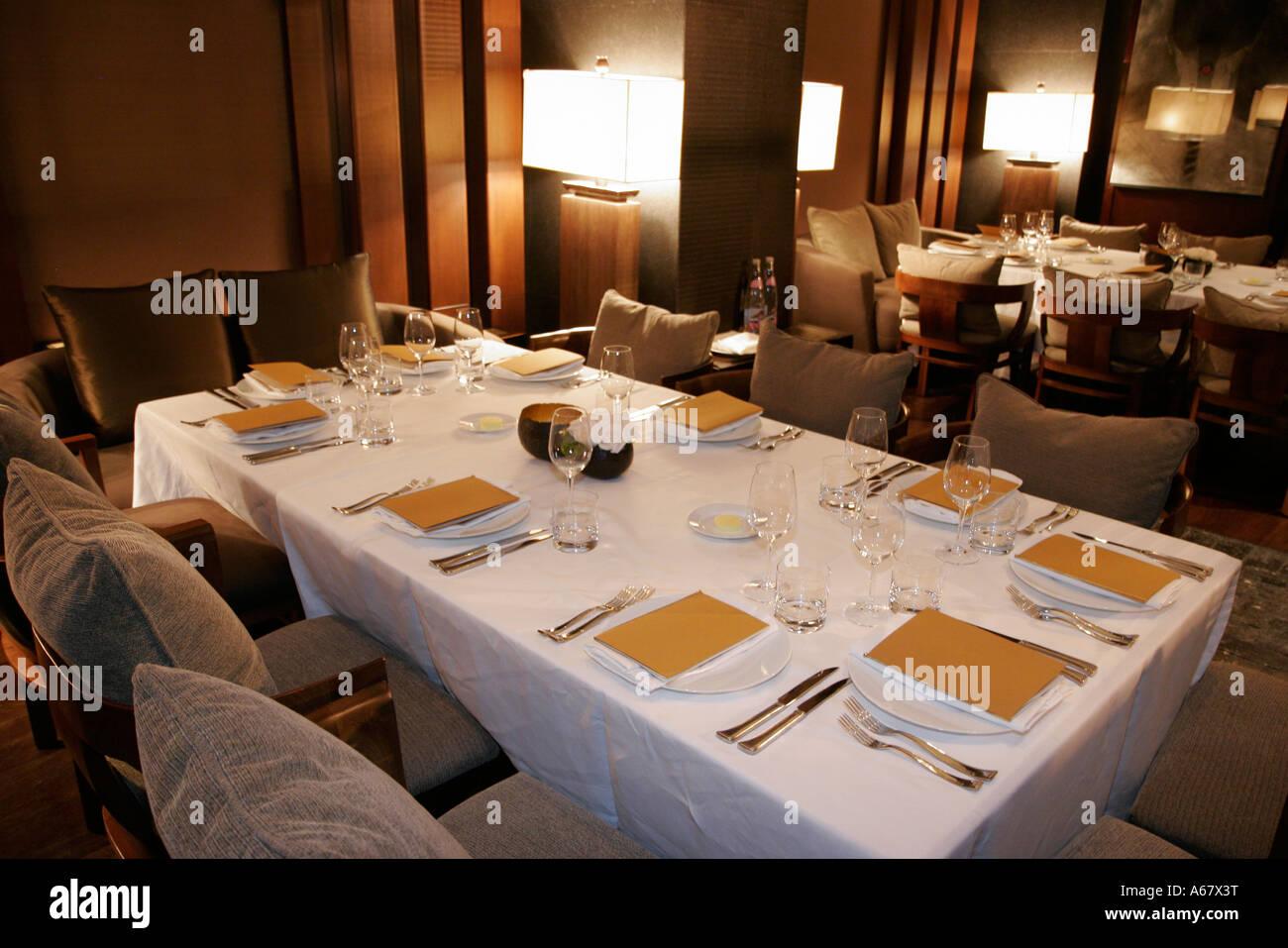 Miami beach florida south setai hotel restaurant