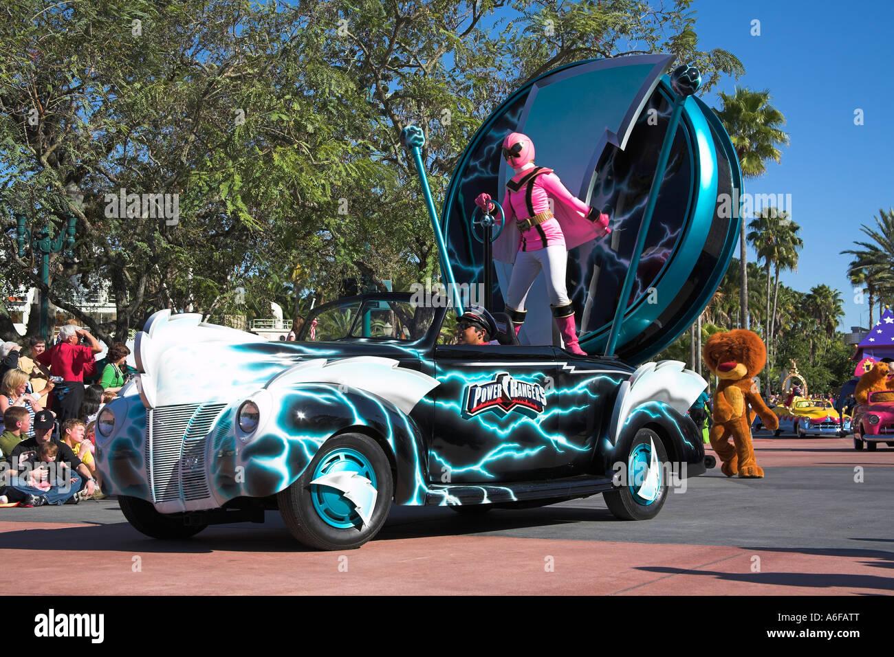 Power Rangers Disney Stars And Motor Cars Parade Disney