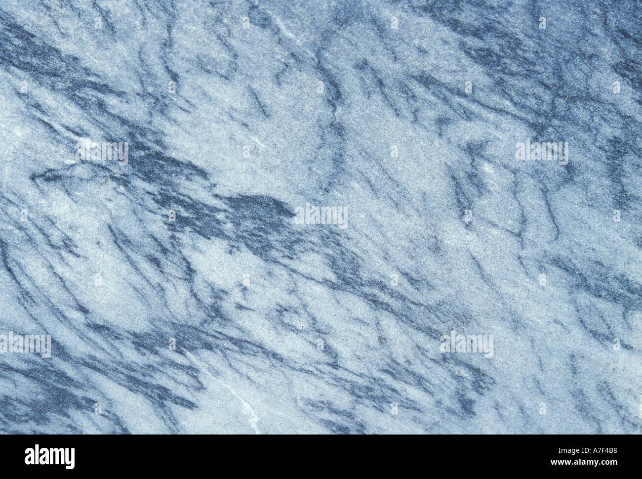 Dark Blue Marble : Smooth bluish marble like surface with dark blue veins