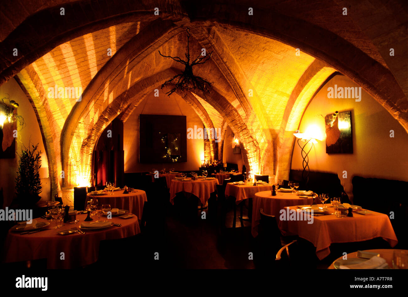 herault montpellier la maison de la lozere restaurant stock photo royalty free image