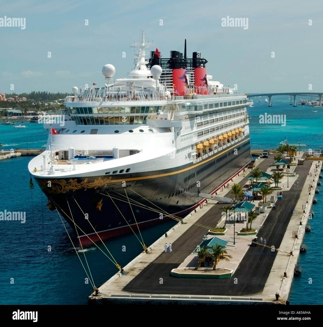 Cruise ship at port nassau bahamas stock photo royalty free image 6854681 alamy - Cruise port nassau bahamas ...