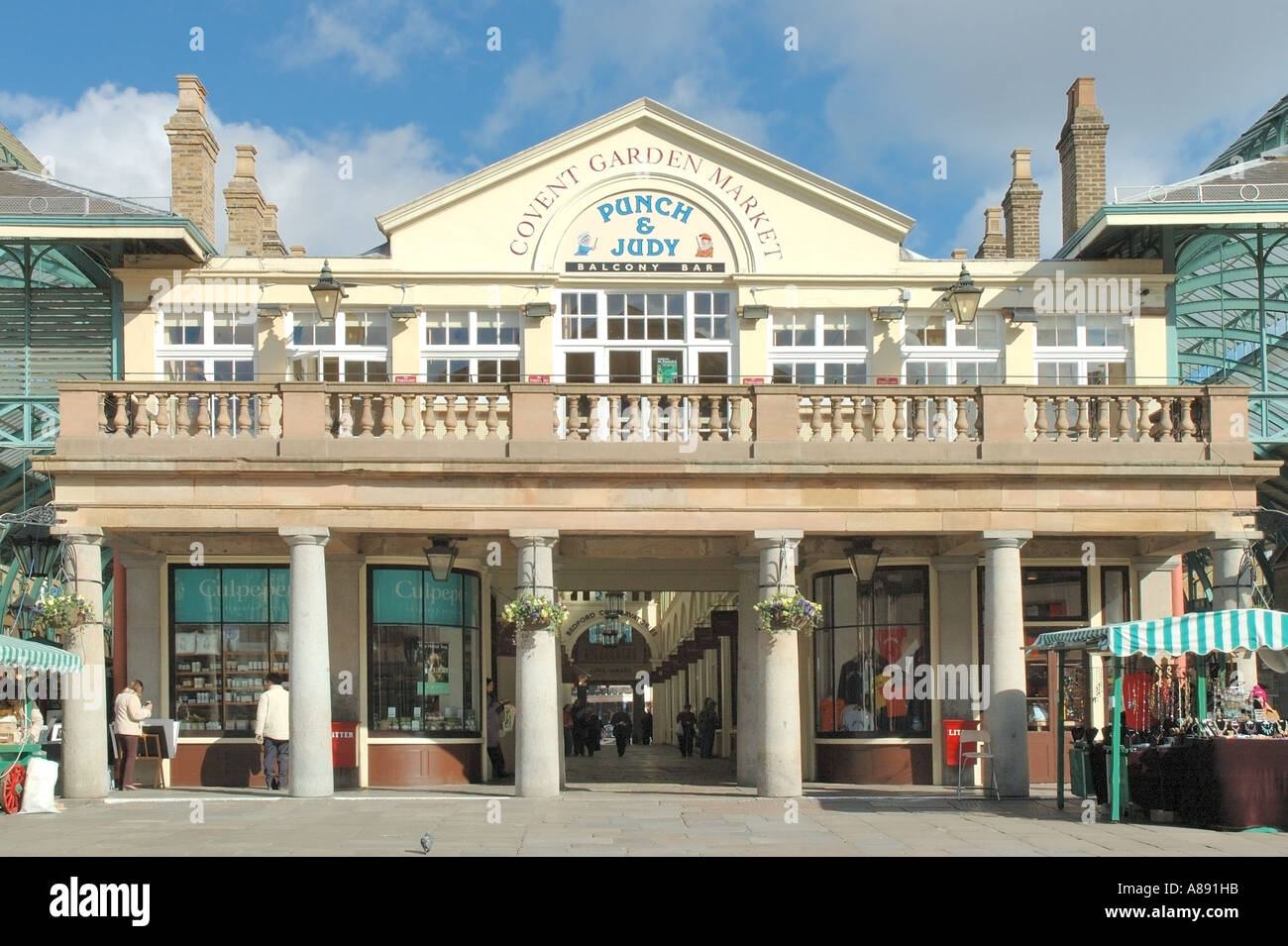 Punch And Judy Pub Covent Garden Market Historical Architecture Stock Photo Royalty Free Image ...