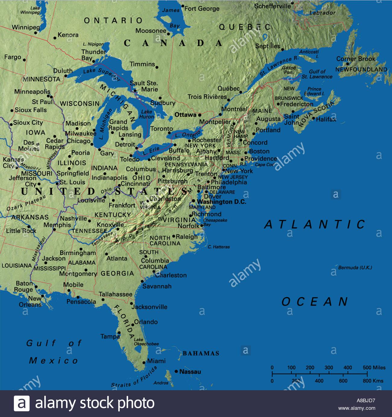 Maps Update 800858 Map Usa East Coast States East Coast Map – Map Us East Coast