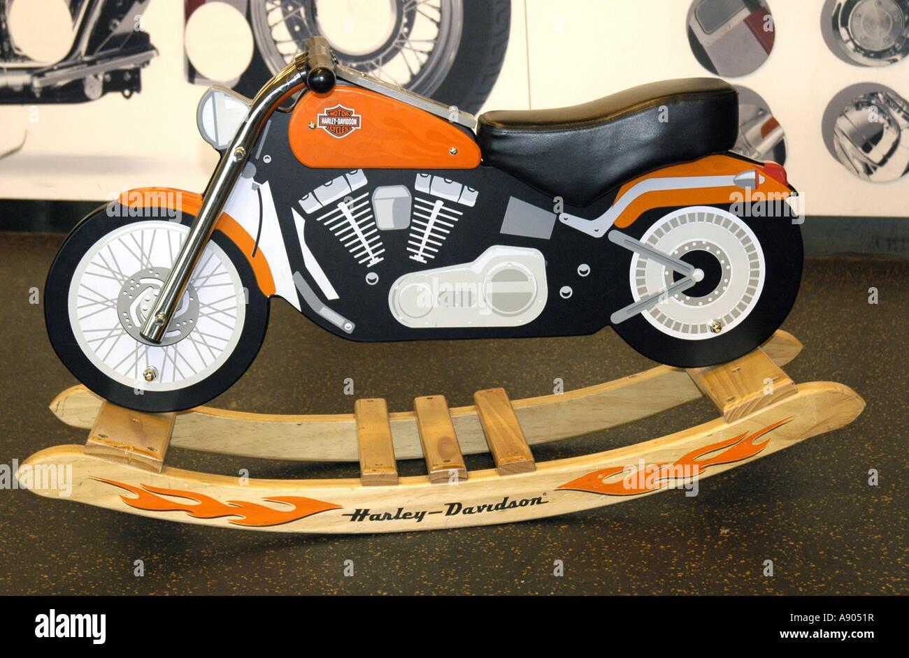 York pa harley davidson museum motorcycle theme rocking for Scooter rocking horse