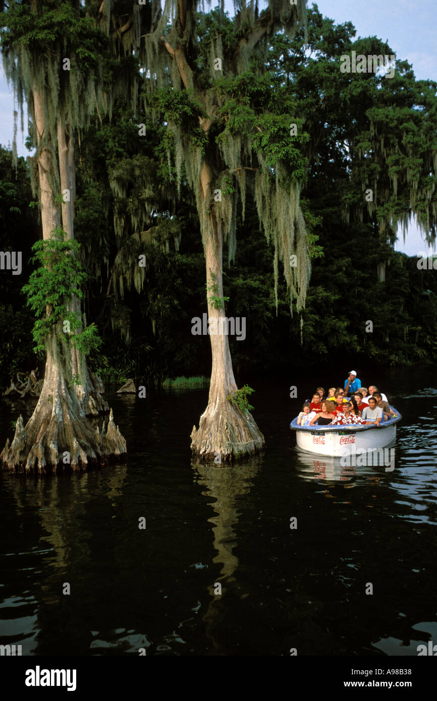Florida, Winter Haven, Cypress Gardens Stock Photo