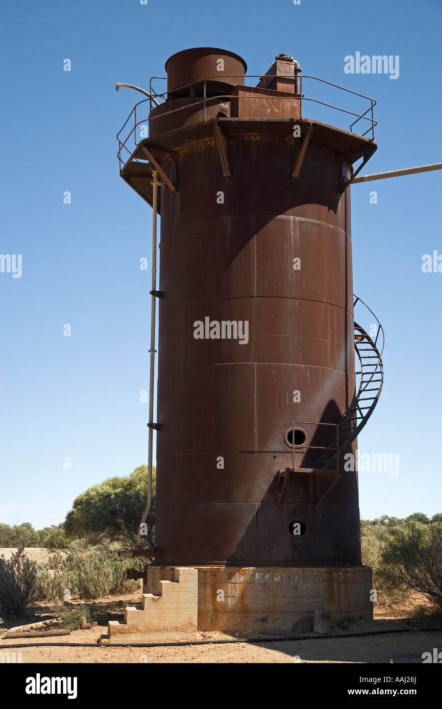 Water Tower Beresford Bore Historic Railway Siding Old