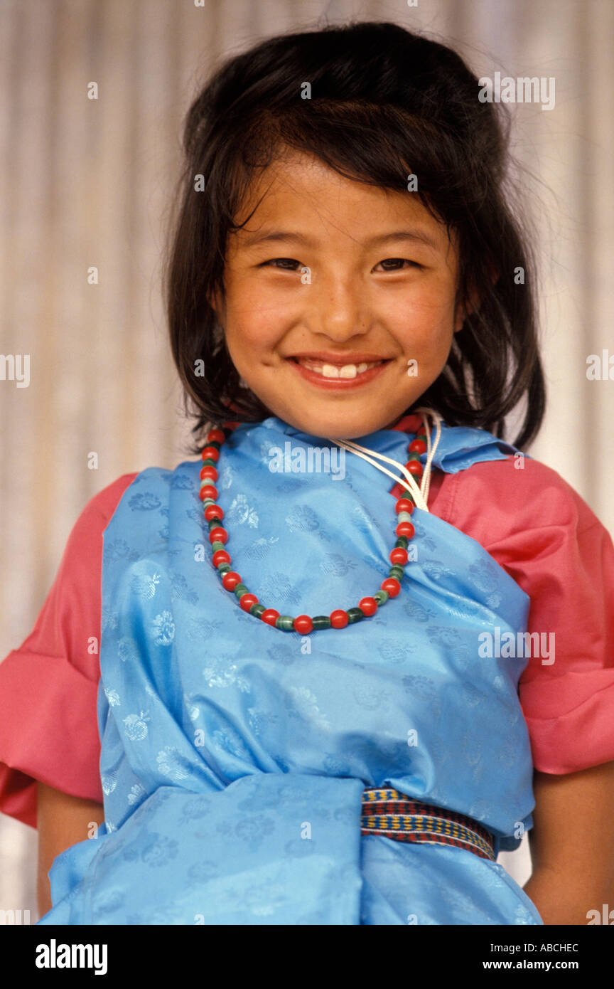 Young north east Indian Girl Stock Photo, Royalty Free