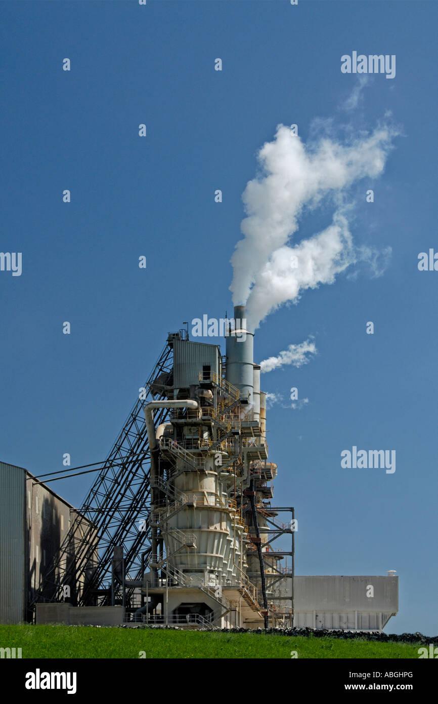 Tata Shapfell limestone works , Shap . Cumbria , England , United Kingdom . , Europe . Stock Photo