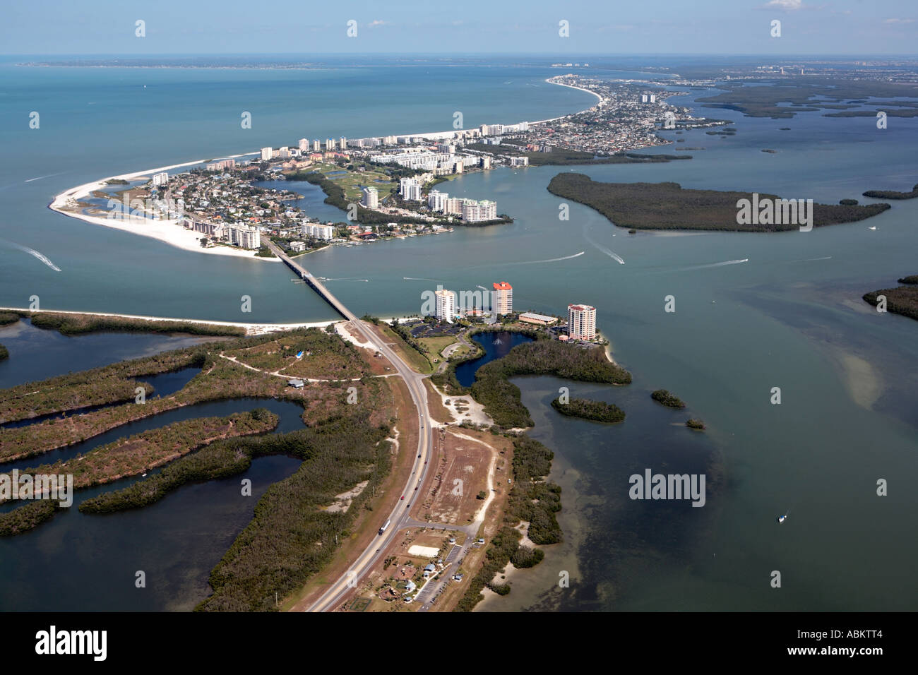 Aerial Photo Of Estero Island Fort Myers Beach Lover S