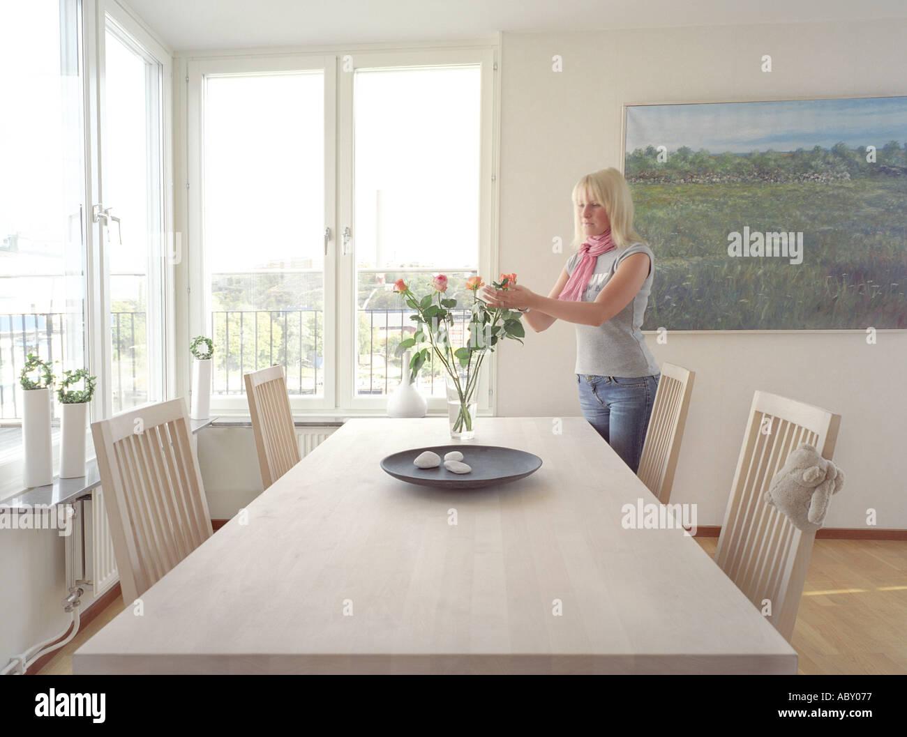 modern trendy interior lifestyle swedish scandinavian design stock photo royalty free. Black Bedroom Furniture Sets. Home Design Ideas