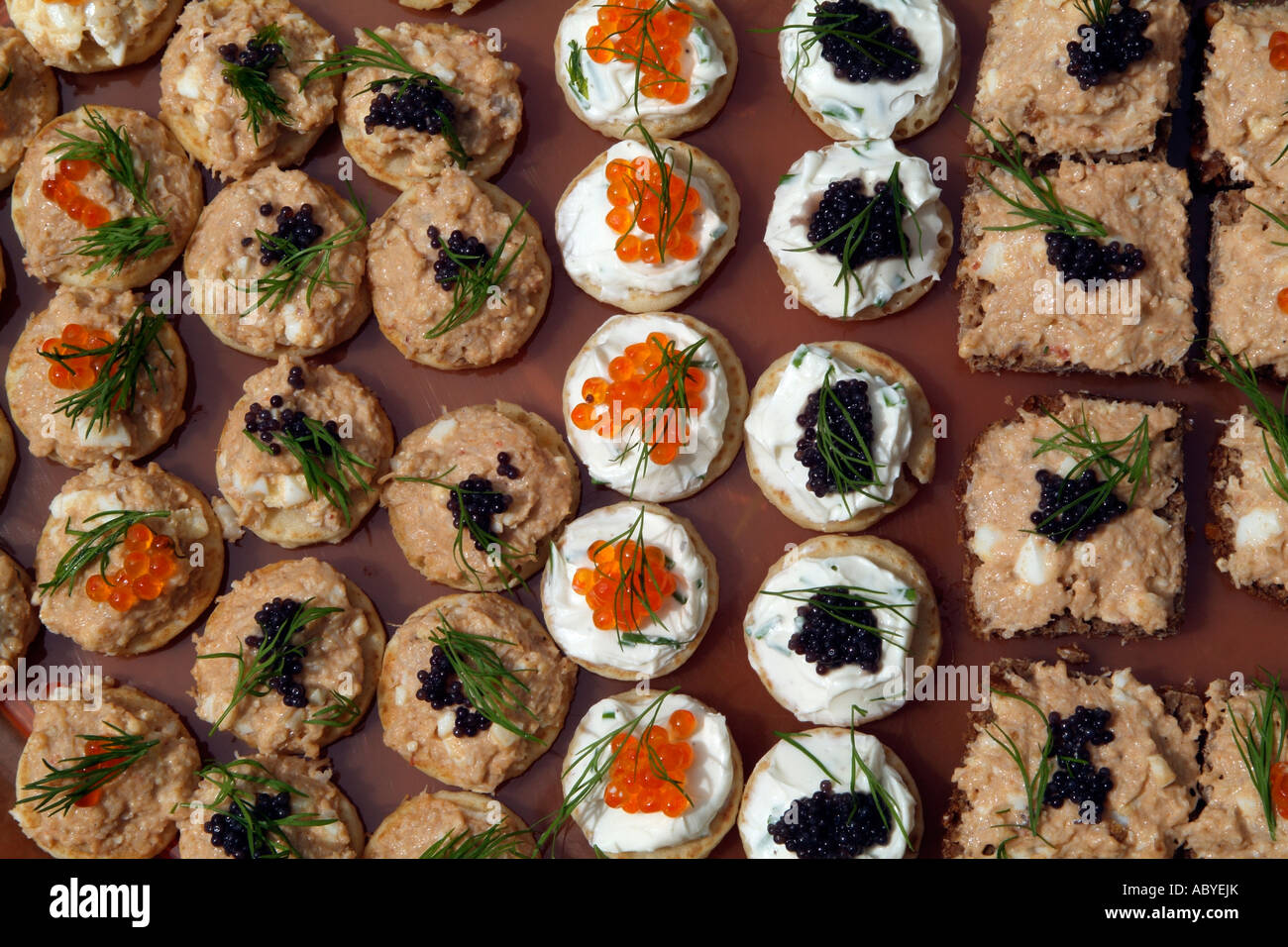 Canapes party savoury food finger buffet a selection of for Canape party menu