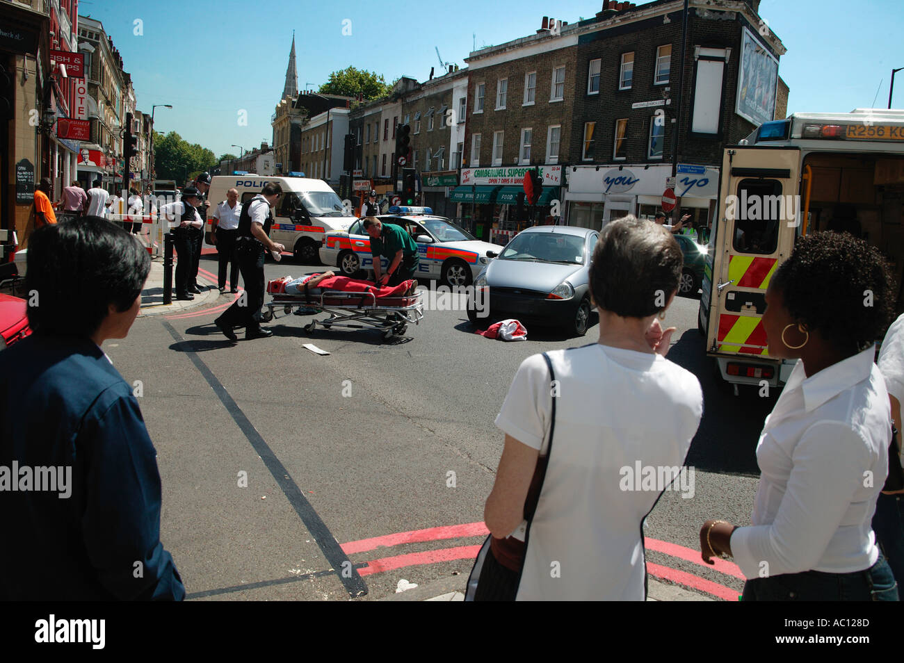 Car Crash Camberwell