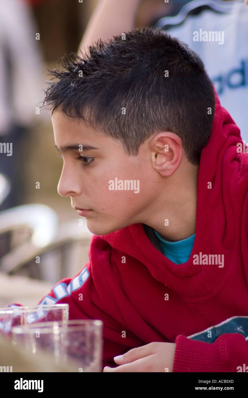 Spanish Boy On Tumblr: Young Spanish Boy Stock Photo, Royalty Free Image: 7485356