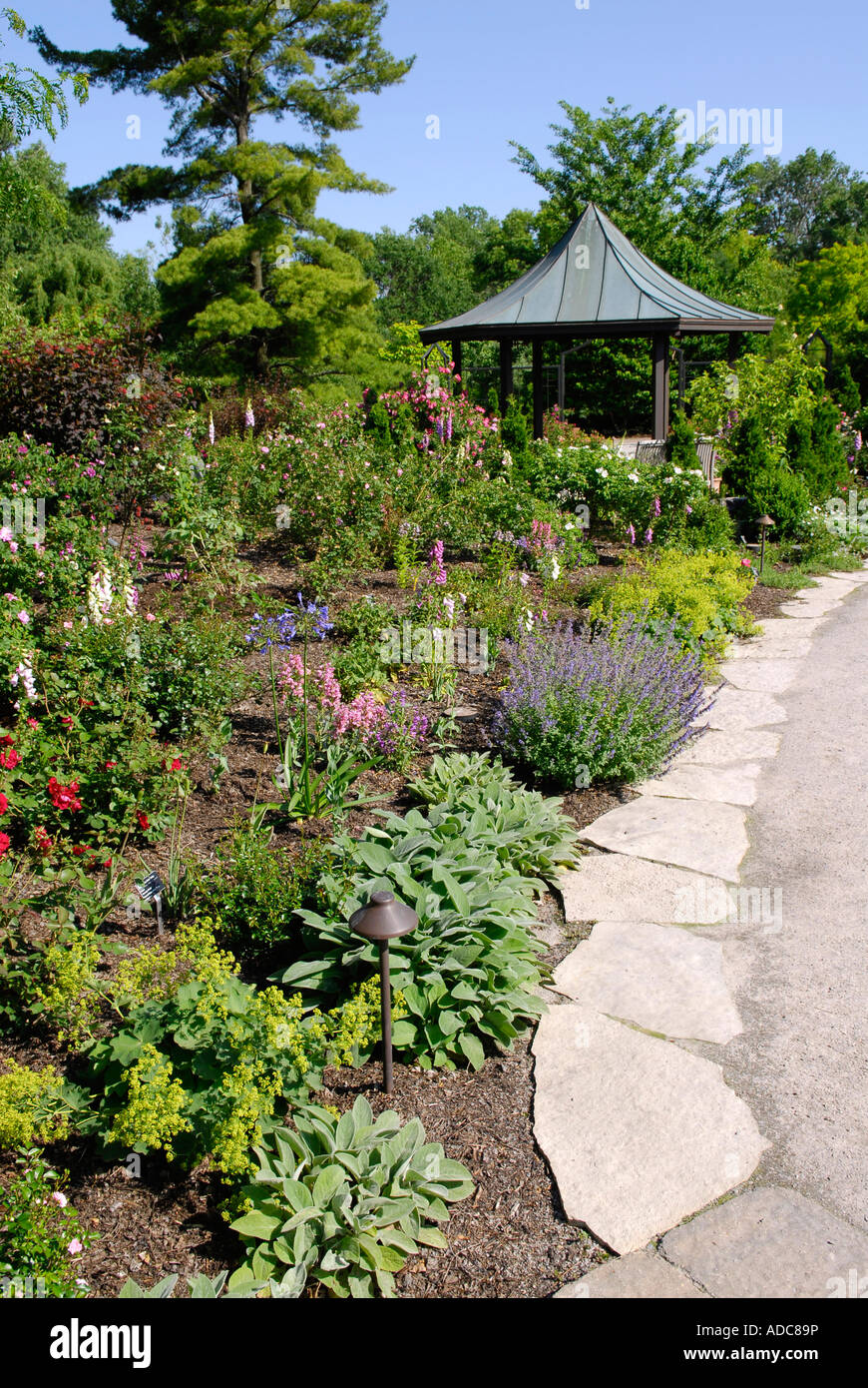 Olbrich Botanical Gardens In Madison Wisconsin Wi Usa Stock Photo Royalty Free Image 13374705