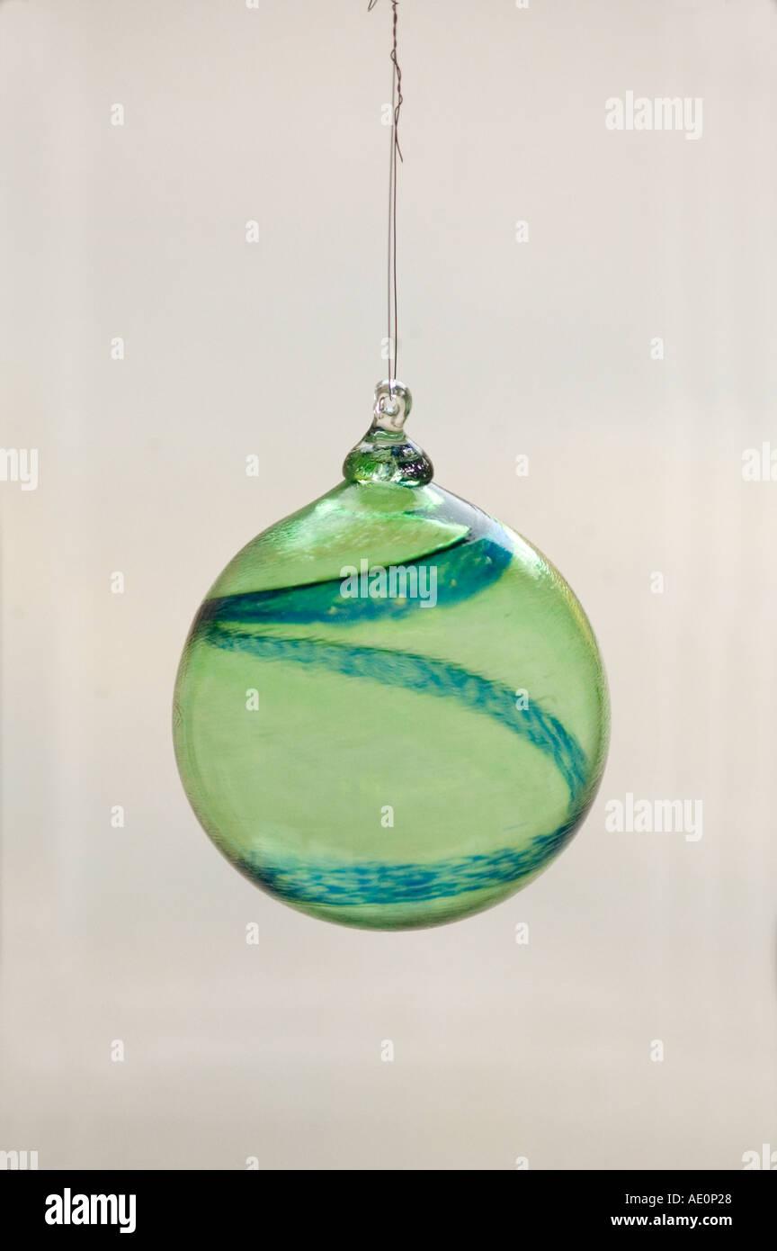 Sweden, Goteborg, Glass ornament, Helena Gibson Studio Stock Photo