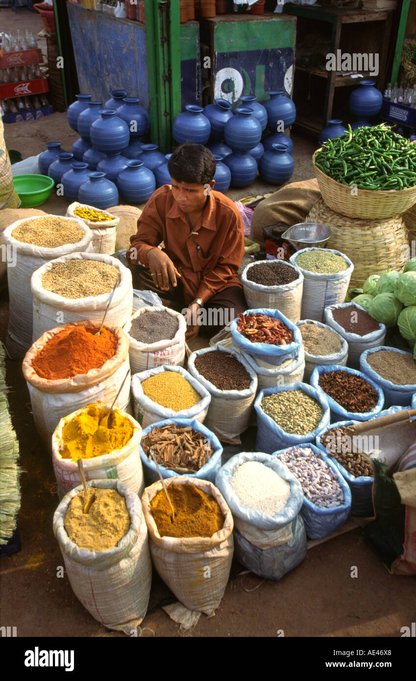India goa mapusa market food spice section of the weekly for City indian dining ltd t a spice trader