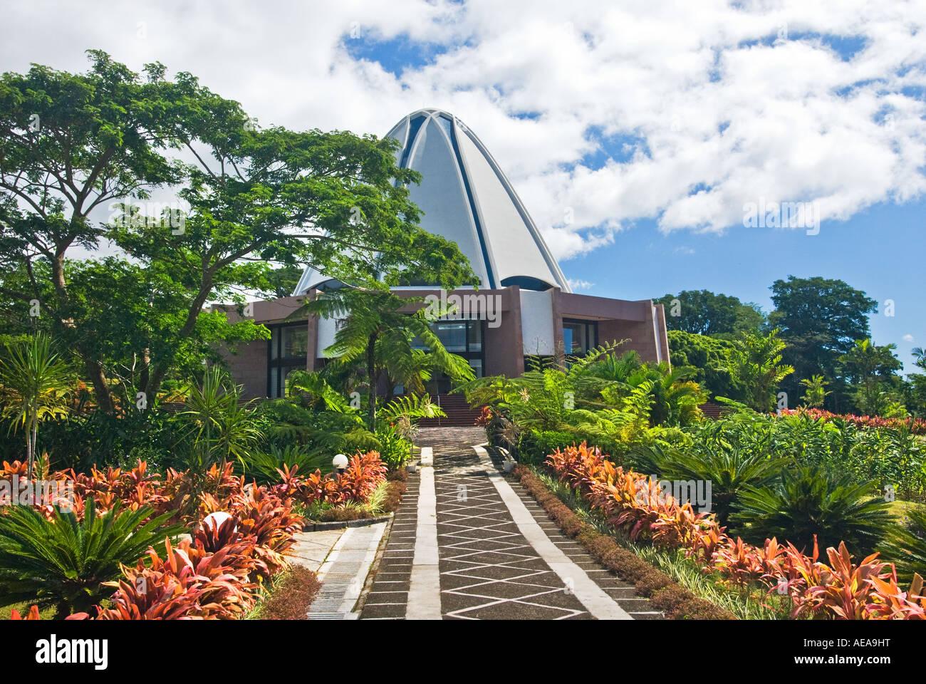 Garden of the baha 39 i house of worship in western samoa Sun garden manufactured home community