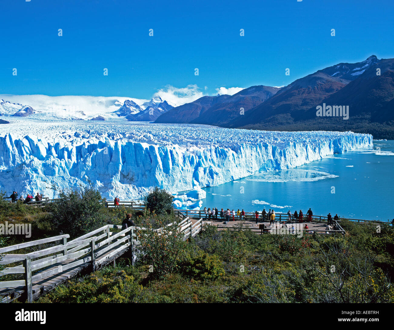 Patagonia South America >> Perito Moreno glacier Parque Nacional Los Glaciares UNESCO World Stock Photo, Royalty Free Image ...