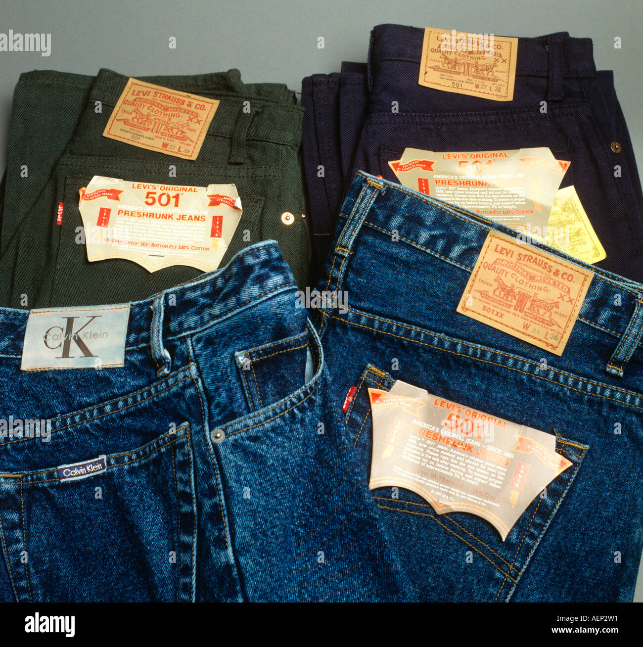 Counterfeit clothing fake designer jeans from Thailand ...
