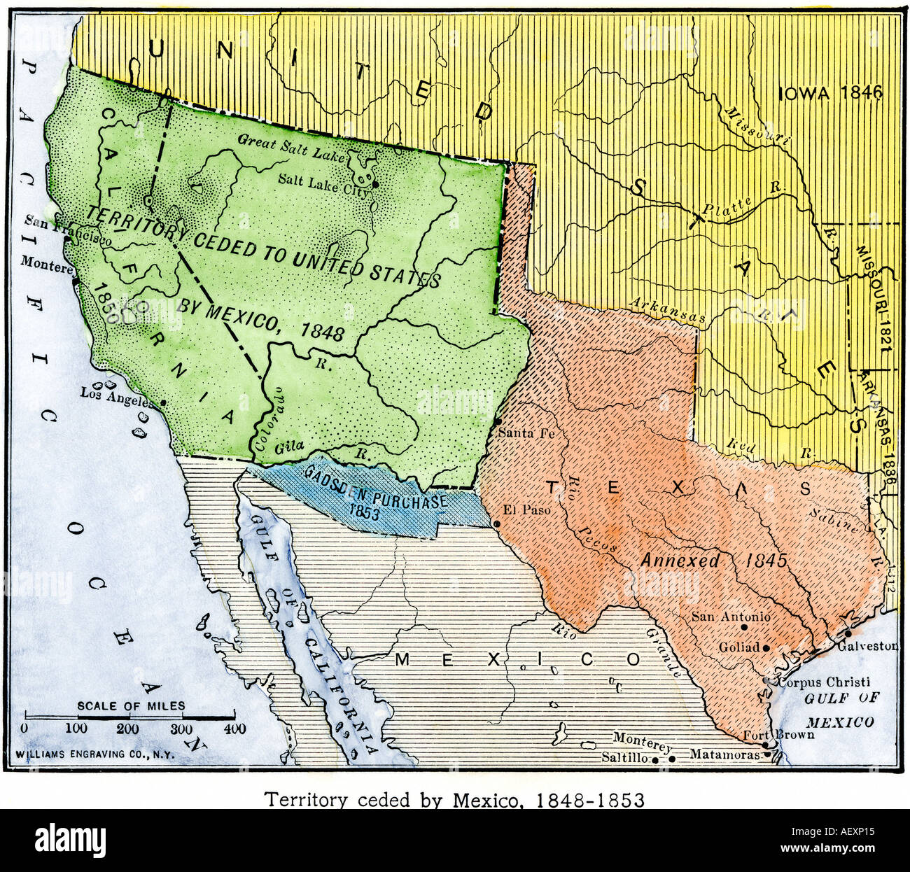 an account of the annexation of texas to the united states and treaty of guadalupe hidalgo The treaty was signed in 1846 and at the conclusion of the mexican-american war in 1848, which was ended by the signing and the ratification of the treaty of guadalupe-hidalgo in 1848 (the annexation of texas, nd.