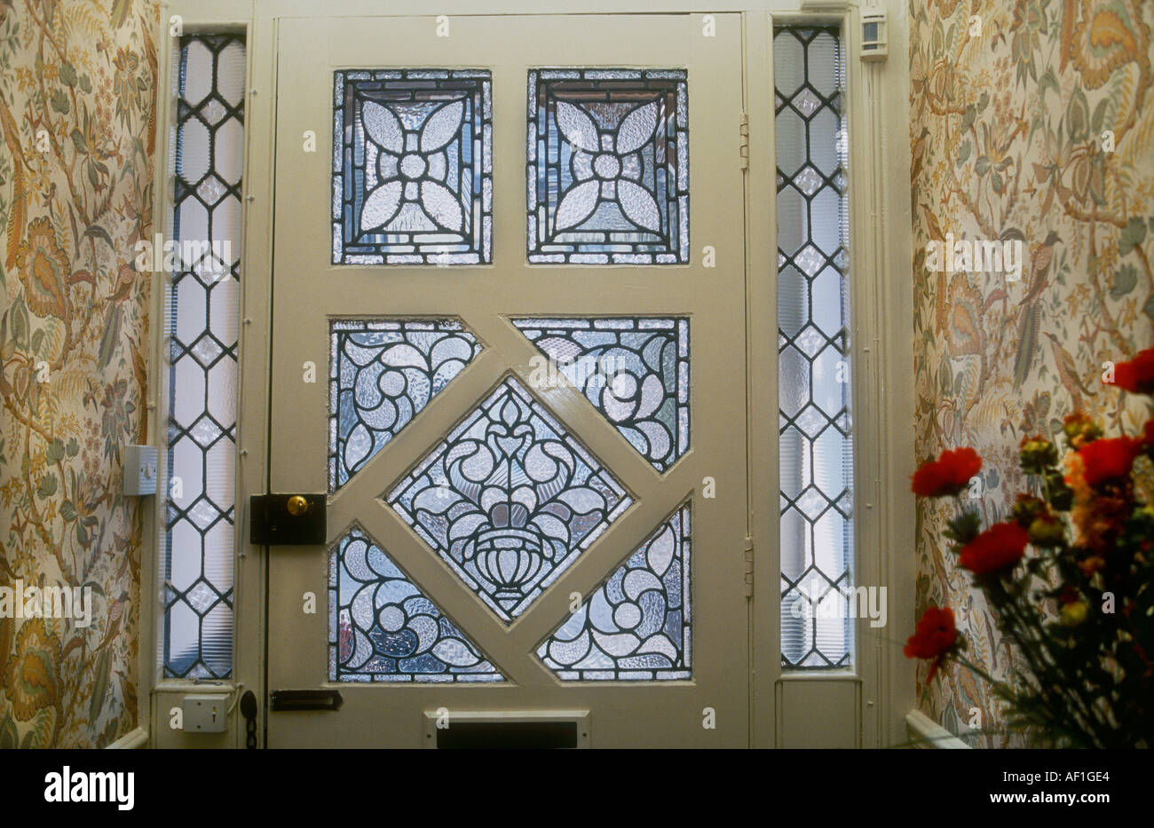 933 #654022 Stock Photo Decorative Edwardian Stained Glass Front Door Taken From  wallpaper Stained Glass Front Doors 40151300