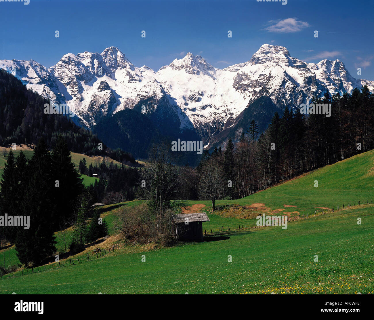 geo allg berge gebirge sterreich salzburg loferer stock photo royalty free image. Black Bedroom Furniture Sets. Home Design Ideas