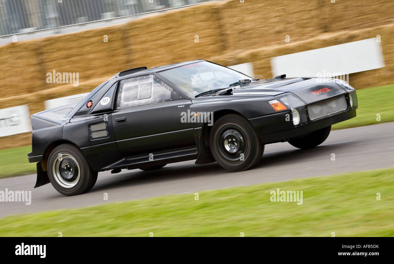 The Very Rare Toyota Mr2 Group S Rally Car At Goodwood