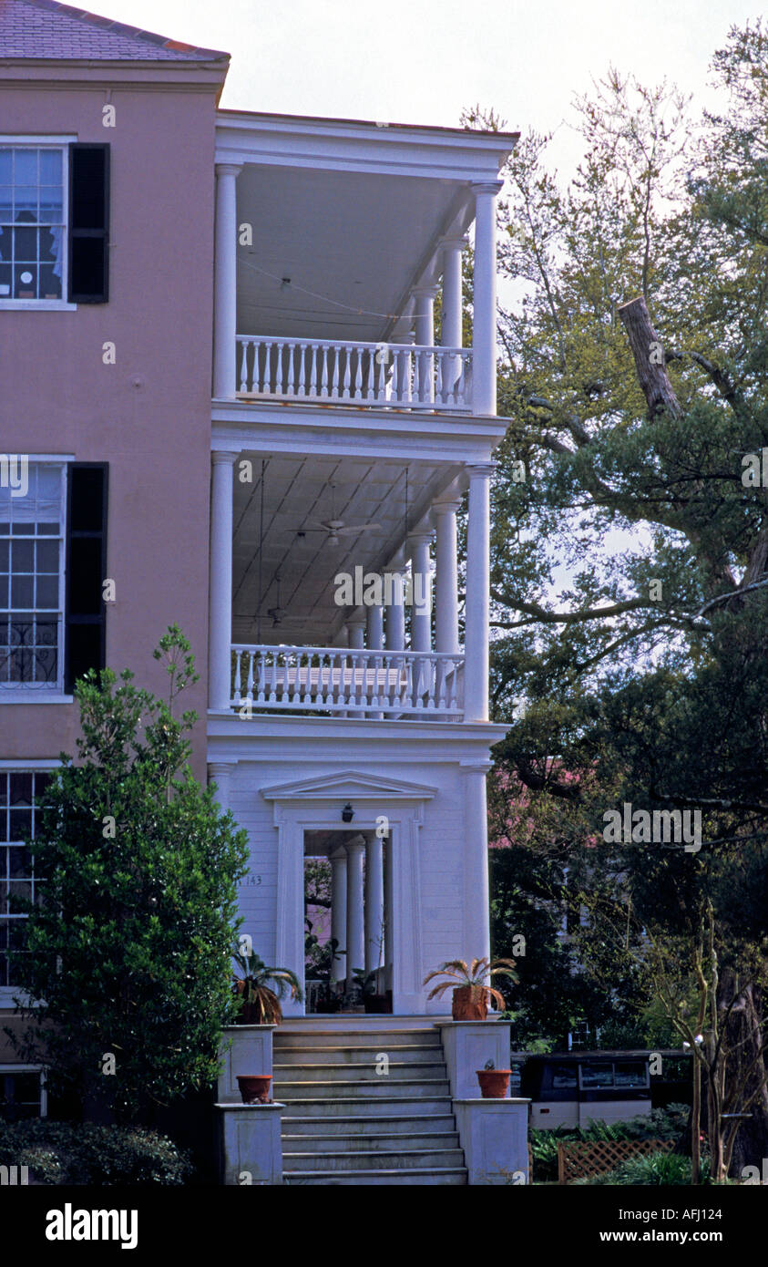 Charleston South Carolina Typical Charleston Style House