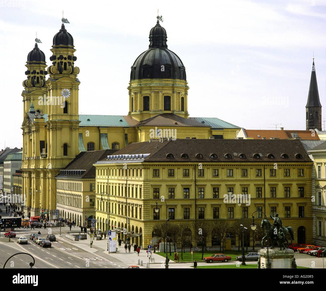 Geography Travel Germany Bavaria Munich Churches