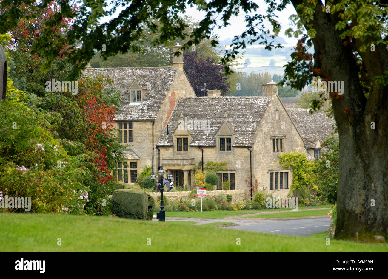 Detached house for sale in cotswold village of chipping for Old homes for sale in england