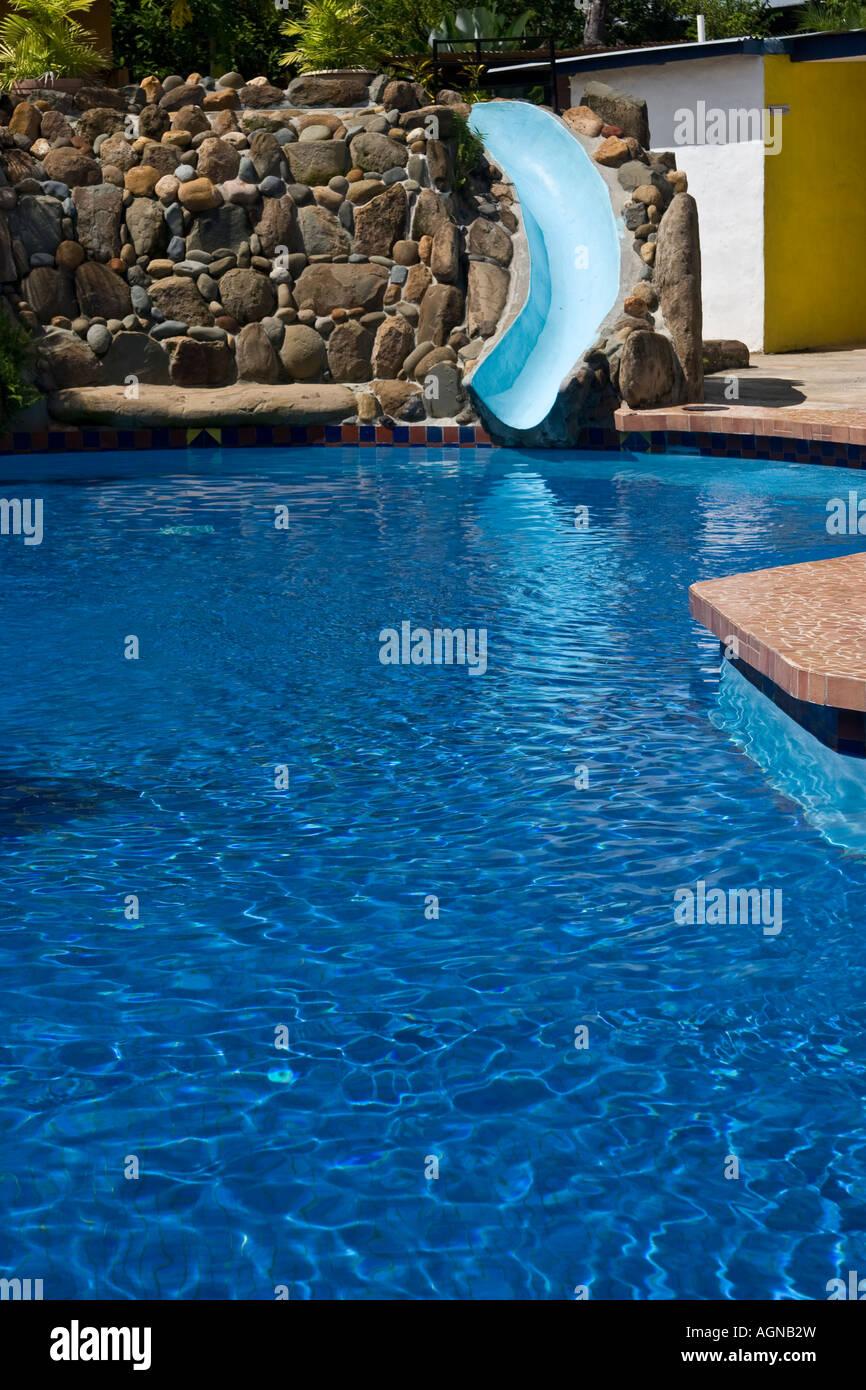 Blue Water At Hotel La Hacienda Swimming Pool Santiago Veraguas Stock Photo Royalty Free Image