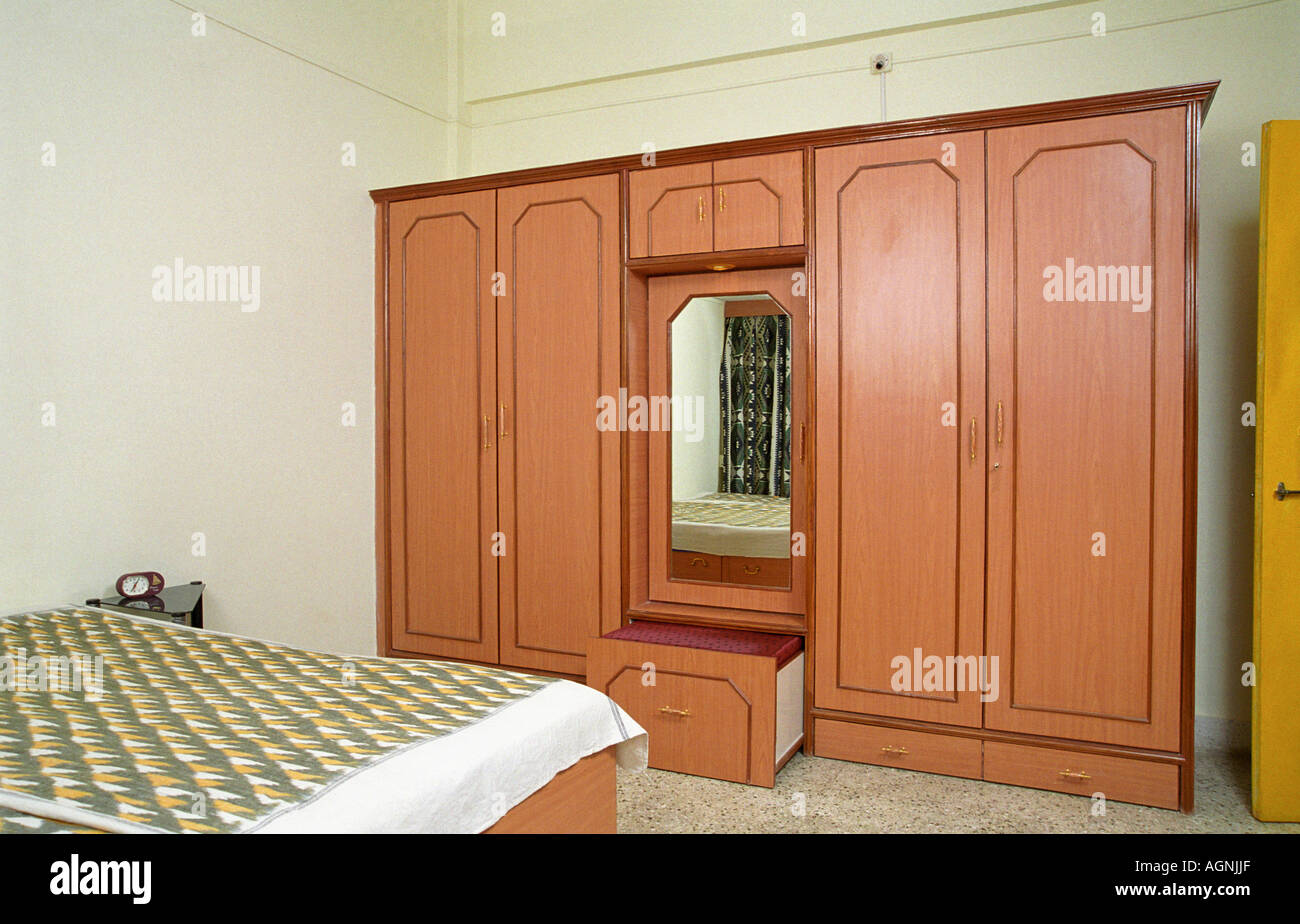 Interior wardrobe with dressing table stock photo royalty free image 8144558 alamy - Wardrobe with dressing table designs ...
