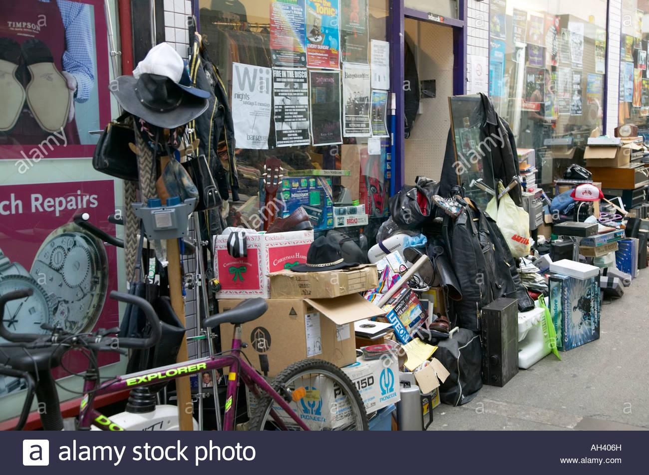 Bric a brac store west end arcade nottingham stock photo for Bric a brac napoli arredamento