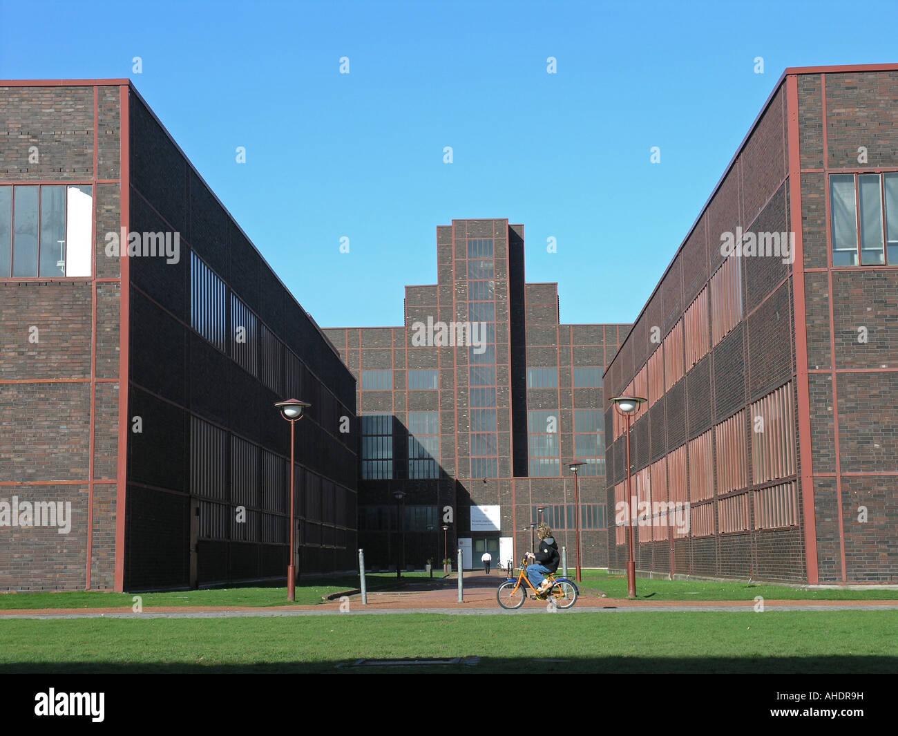 Bauhaus Architecture Zeche Zollverein Unesco World