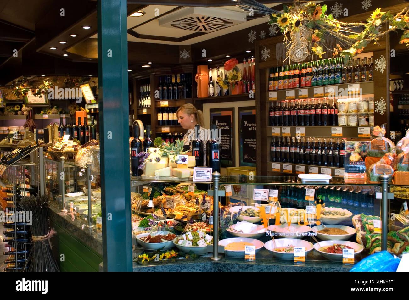 kurfurstendamm berlin domestic caterer grocer 39 s shop grocer stock photo royalty free image. Black Bedroom Furniture Sets. Home Design Ideas