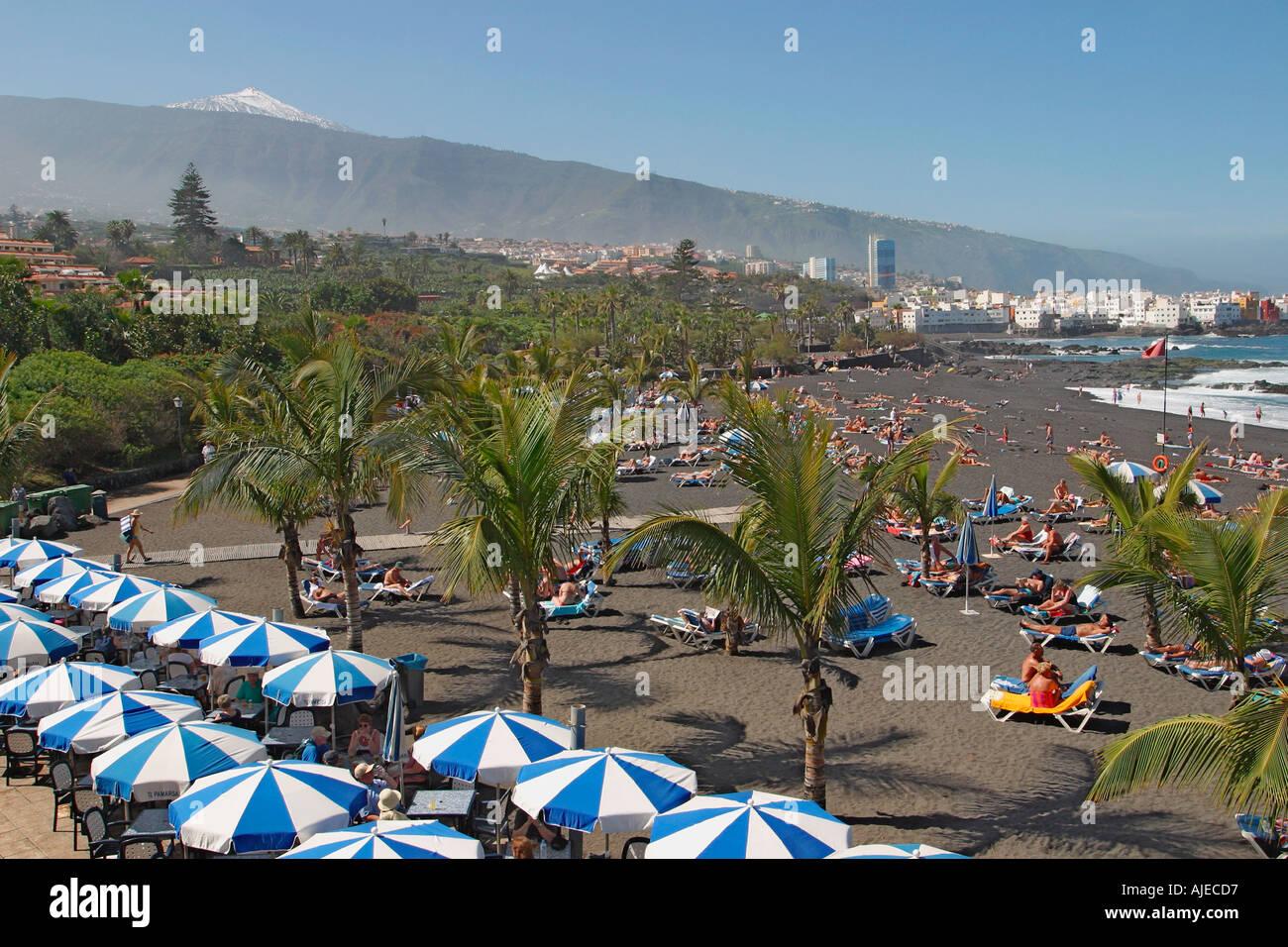 Playa jardin beach puerto de la cruz tenerife canary for Aparthotel jardin de playa