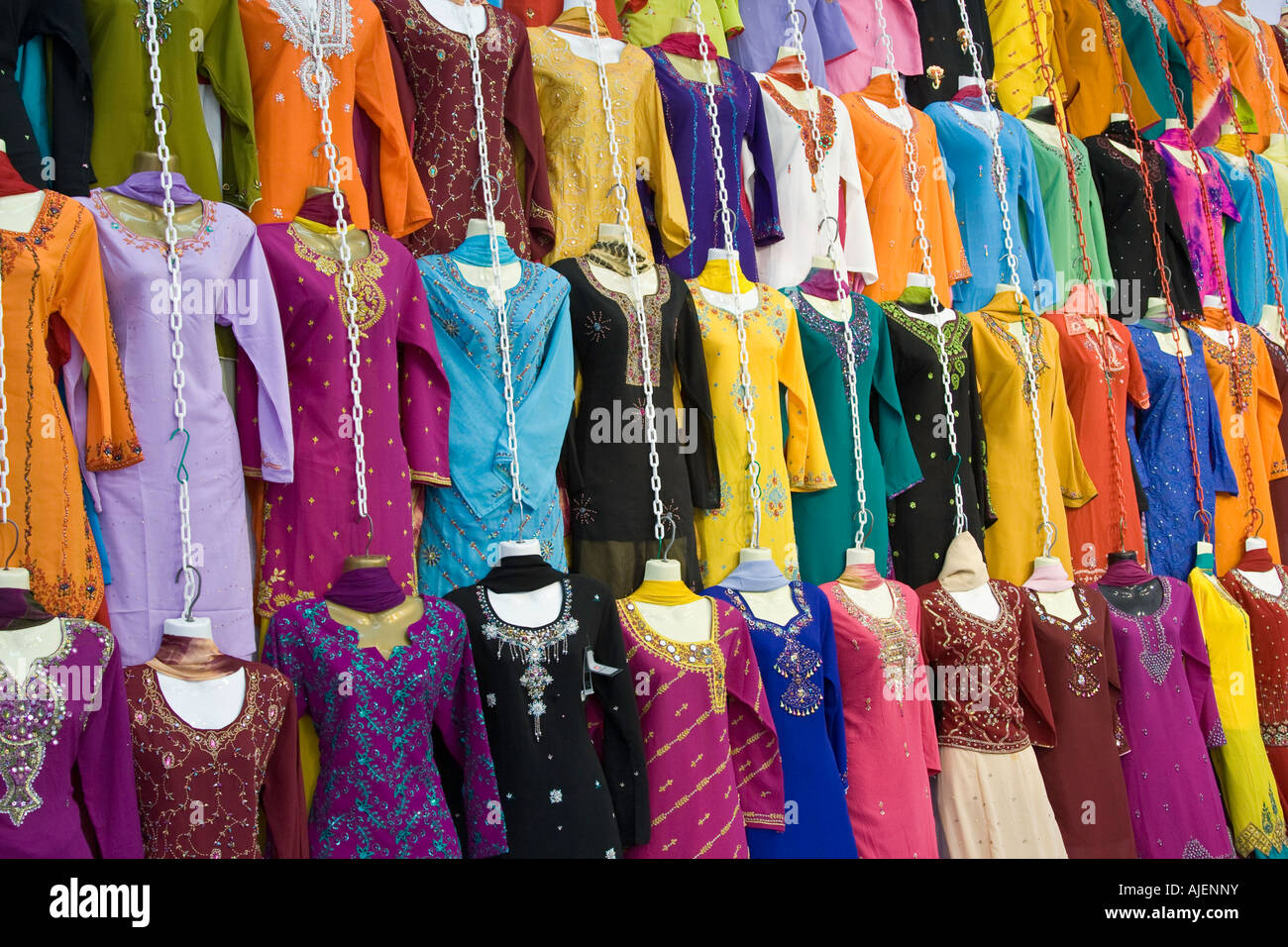 Indian clothes store