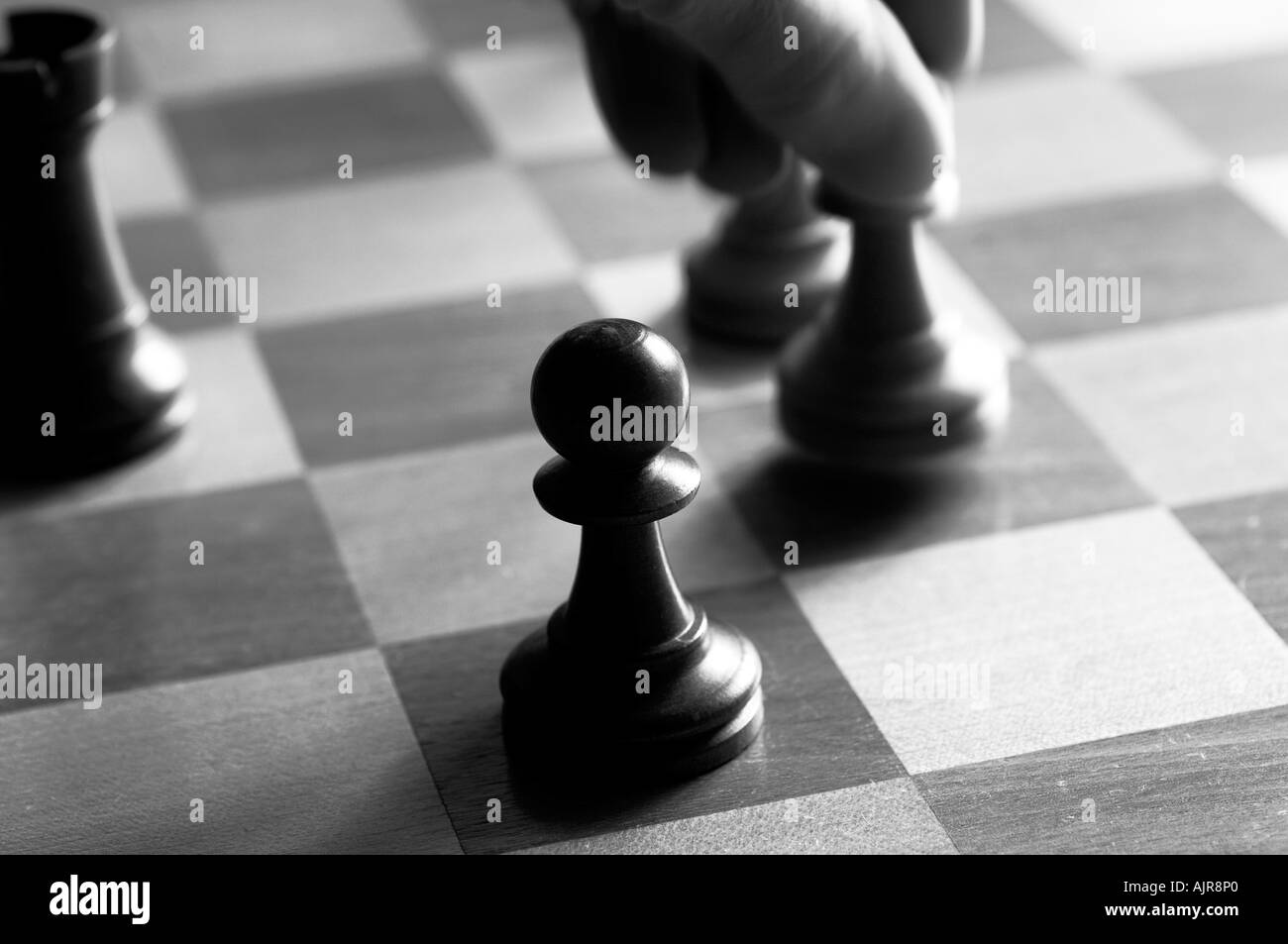 an overview of the black pawn and white pawn in a chess game of the crucible by arthur miller