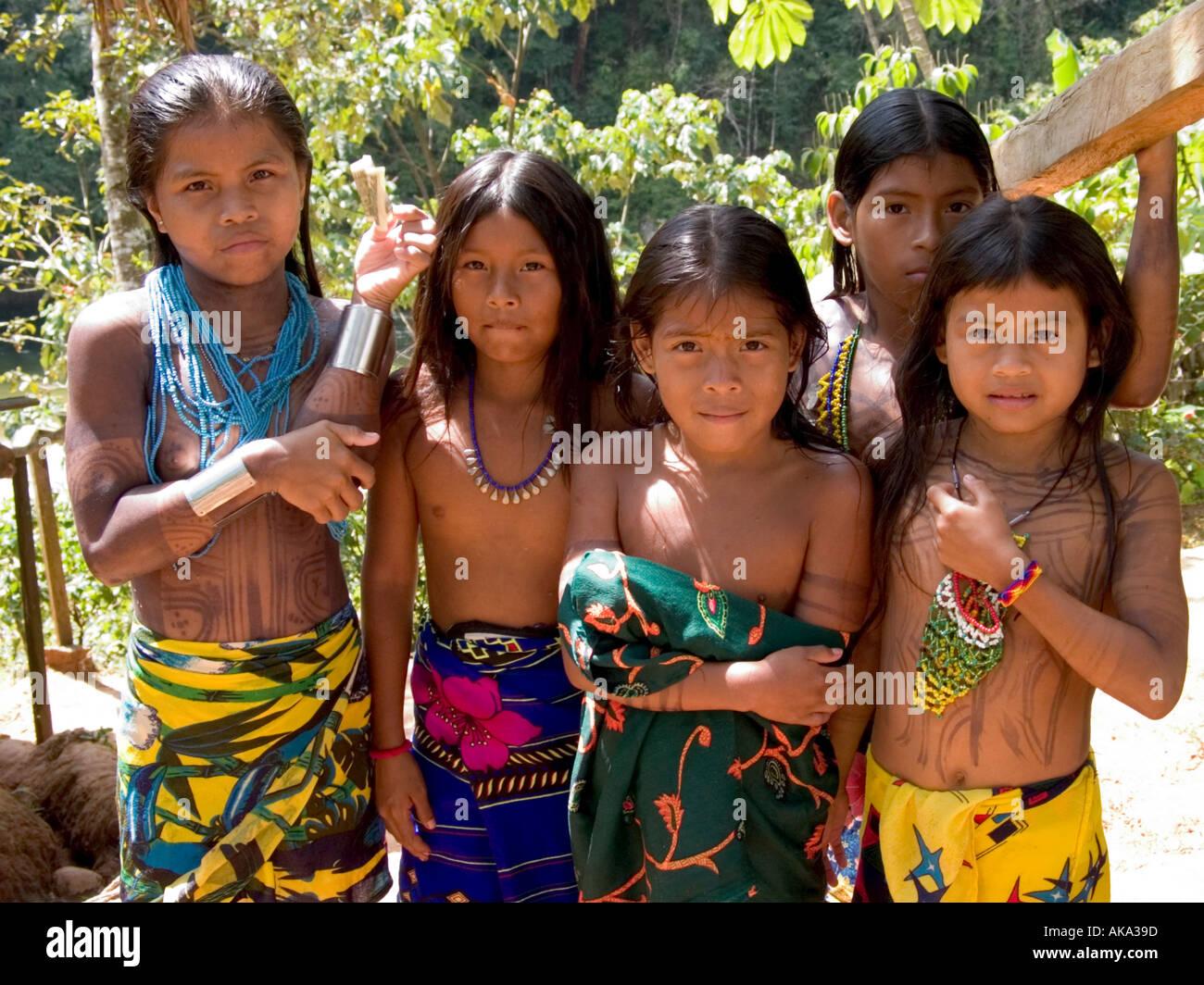 Panama indian tribes girl apologise