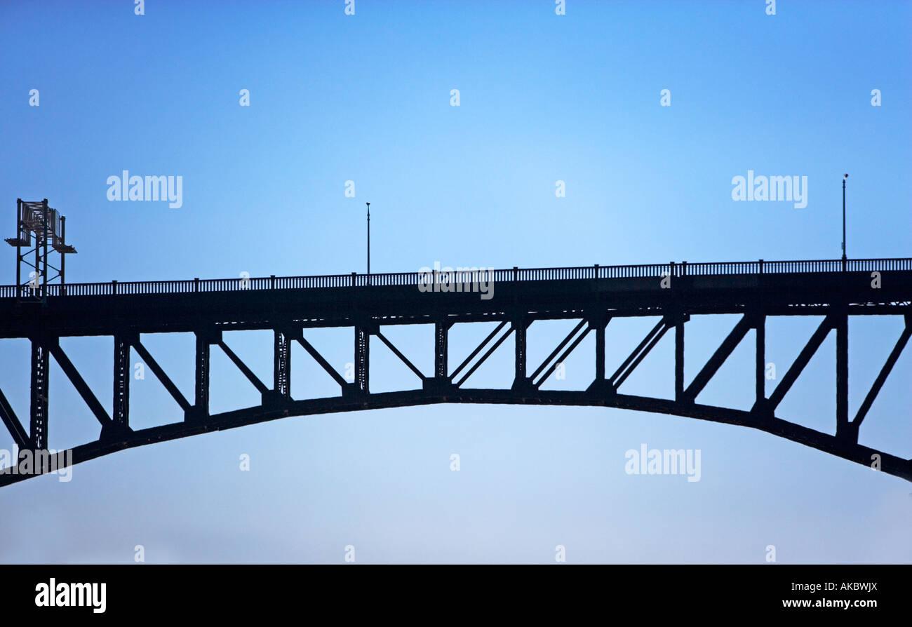 Arch bridge design