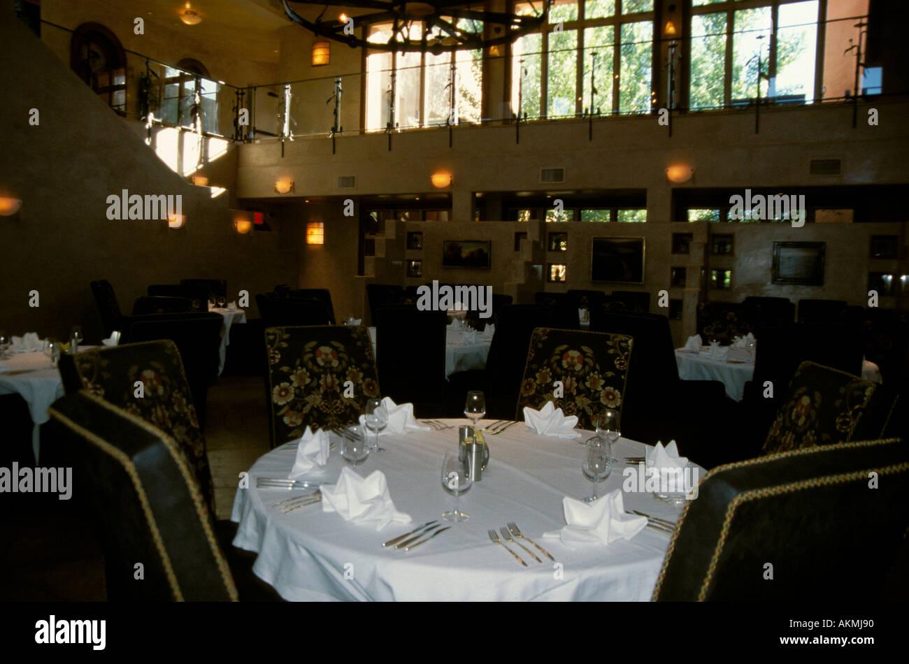 Restaurant Furniture El Monte : Formal dining room of el monte sagrado resort and spa taos