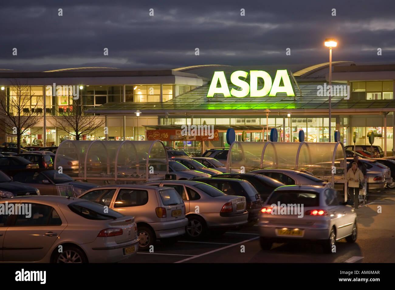 Car Parking Asda